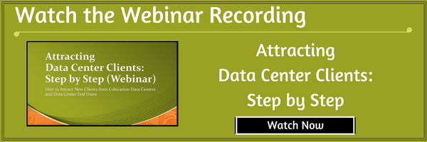 "Watch: ""Attracting Data Center Clients: Step by Step"" (Webinar Recording)"