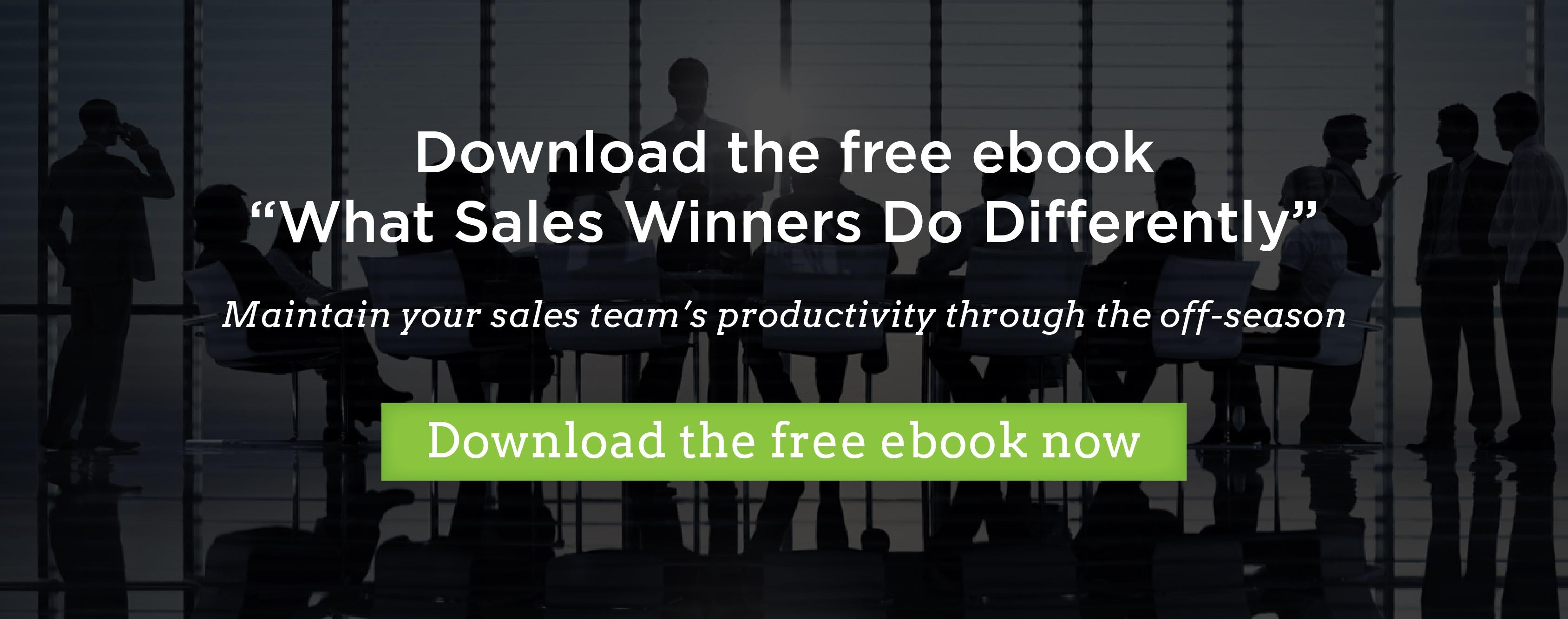 "Download the free ebook ""What sales winners do differently"""