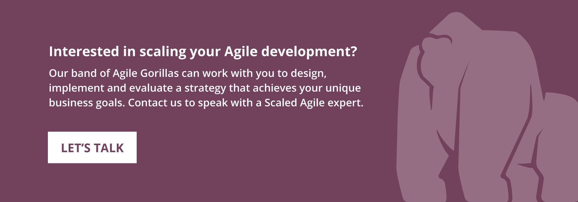 Interested in scaling your Agile development?