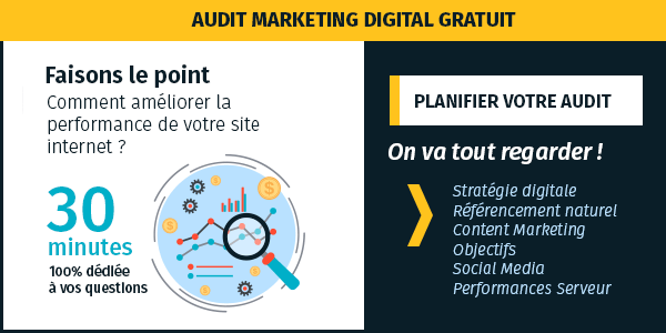 Programmez un audit marketing digital gratuit