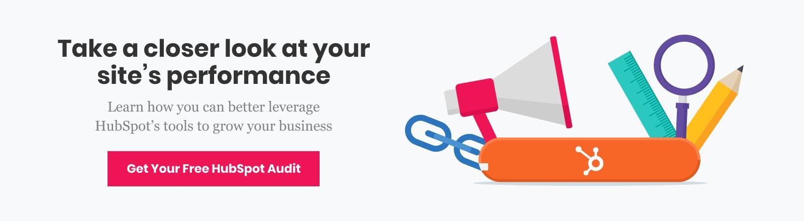 Get Your Free HubSpot Audit