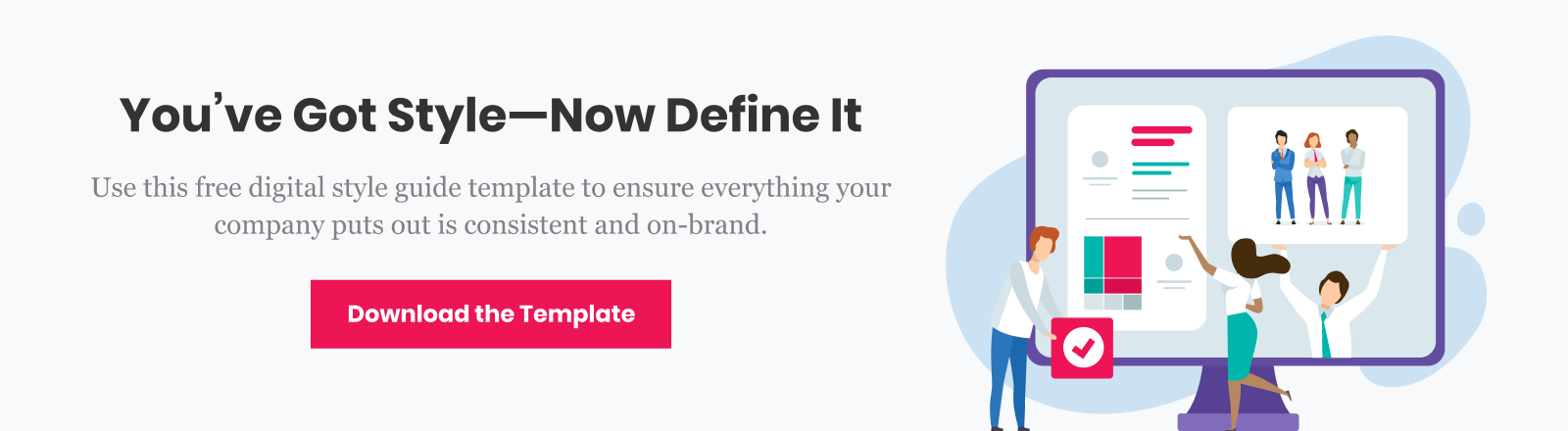 Create your own style guide using our free template