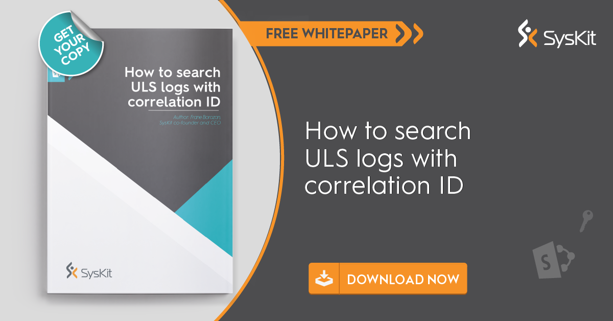 how to search ULS logs