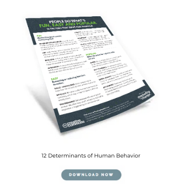 12 Factors That Determine Behavior