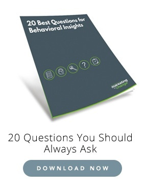 20 best questions for behavioral insights