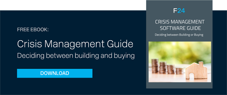 download free e-book - Crisis Management Software, deciding between building and buying