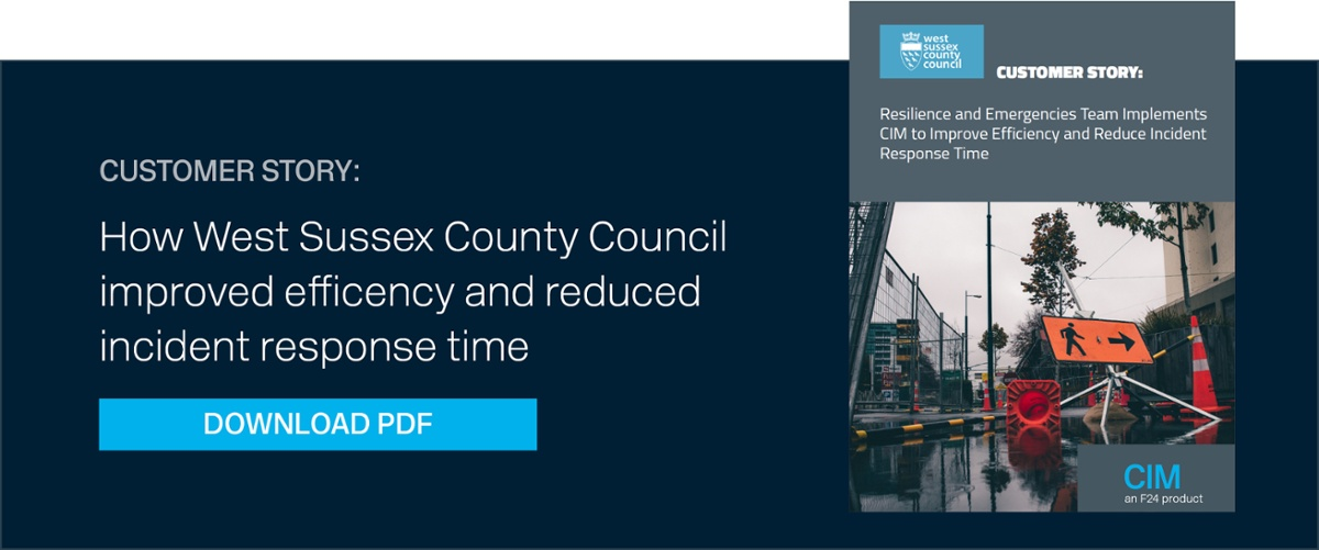 CIM Case study West Sussex County Council