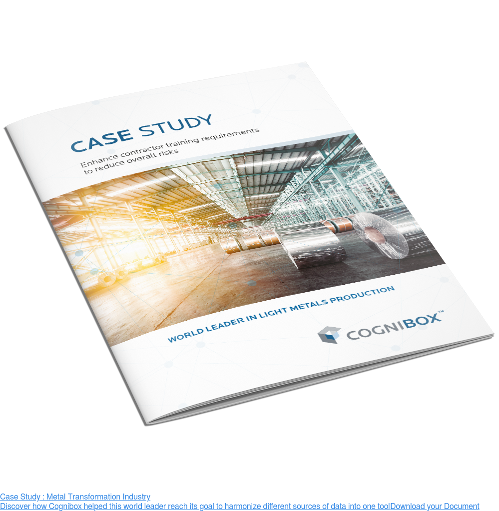 Case Study : Metal Transformation Industry  Discover how Cognibox helped this world leader reach its goal to harmonize  different sources of data into one tool Download your Document <>