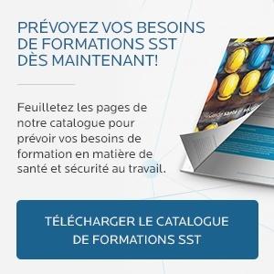 Téléchargez votre catalogue de formations SST!
