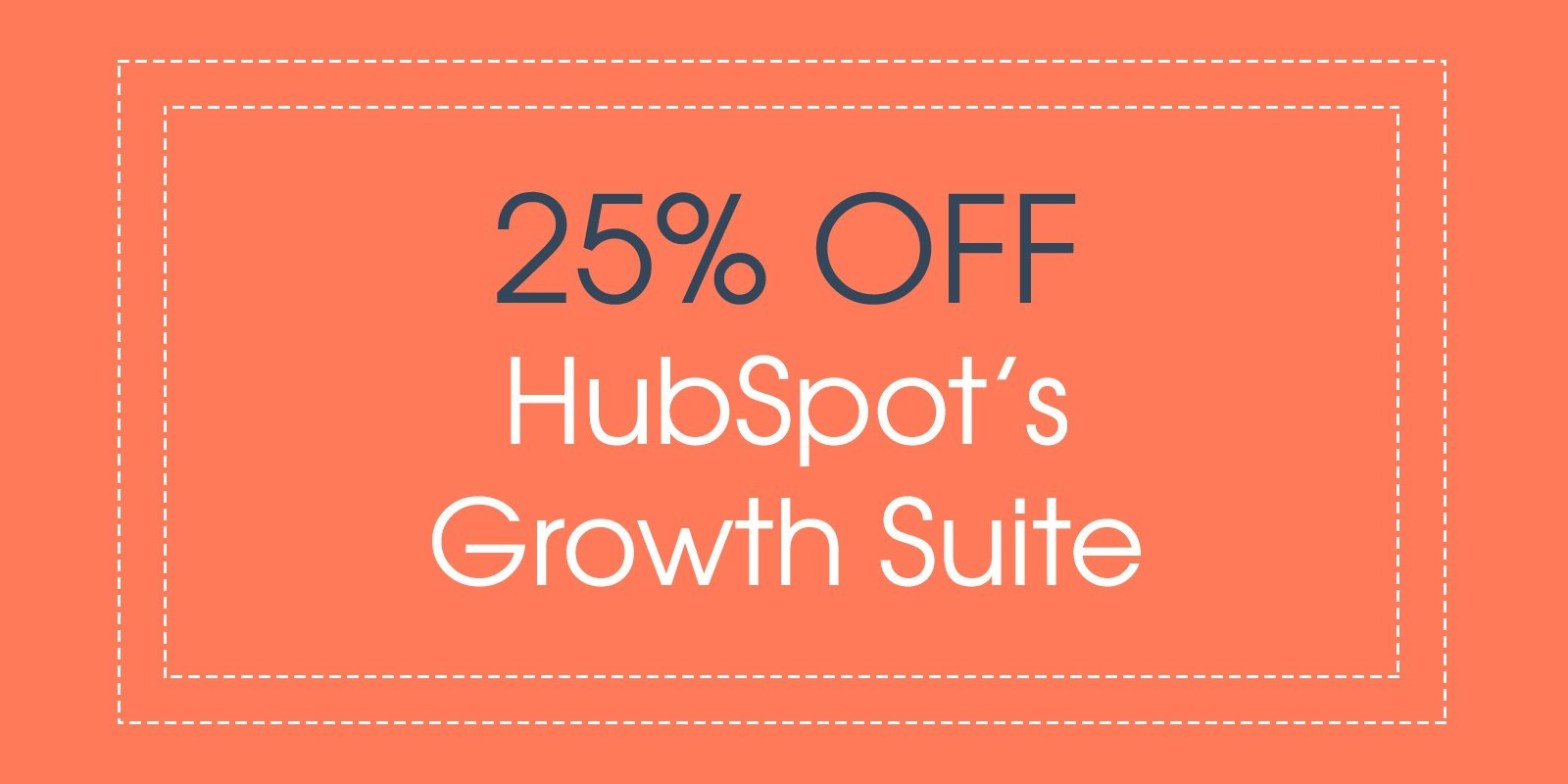 25% off HubSpot Growth Suite