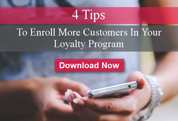 enroll customers in loyalty program