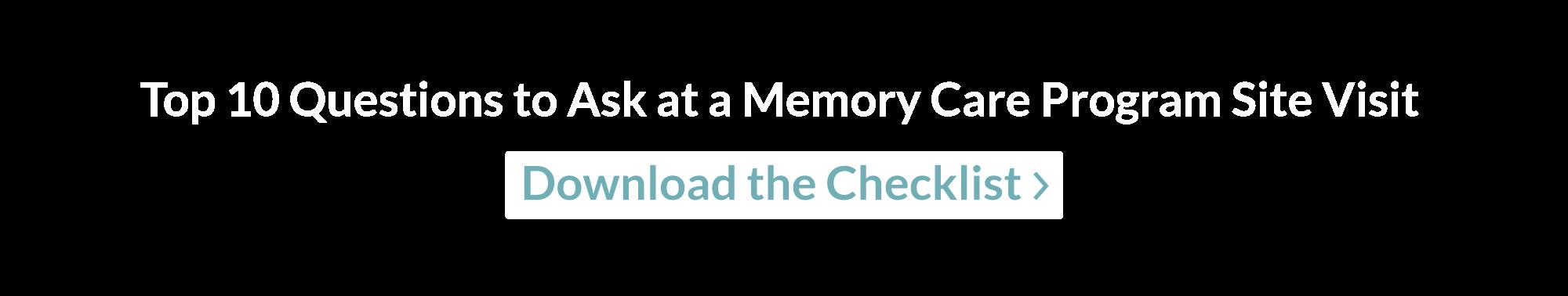 Site Visit Checklist