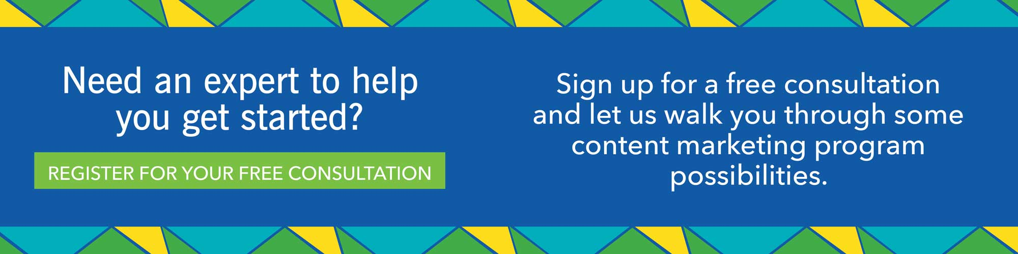 Sign-up for Your Free Content Marketing Demo
