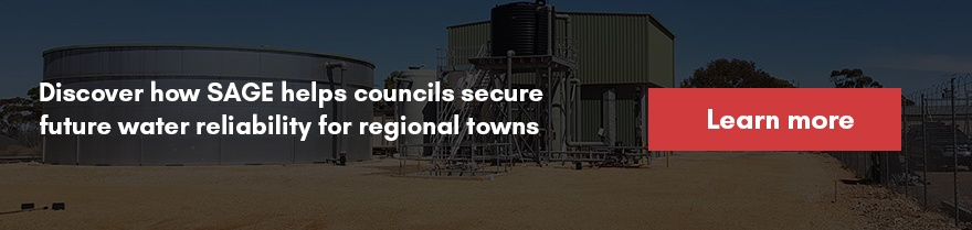 Secure future water reliability for regional towns