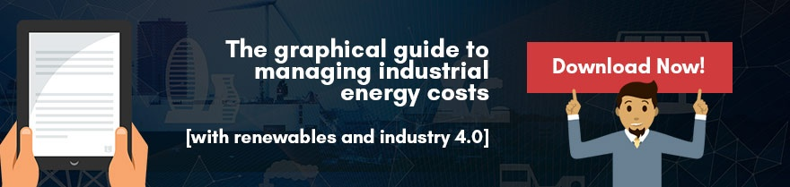 Graphical Guide to managing industrial energy costs with industry 4.0