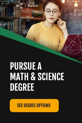 pursue math and science degree