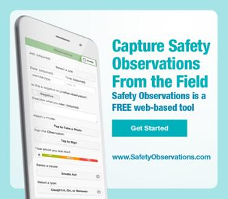 Capture Safety Observations from the Field