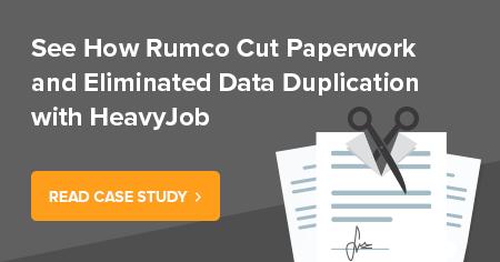 rumco cuts paperwork