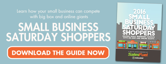 Download the 2016 Small Business Saturday Shoppers Guide