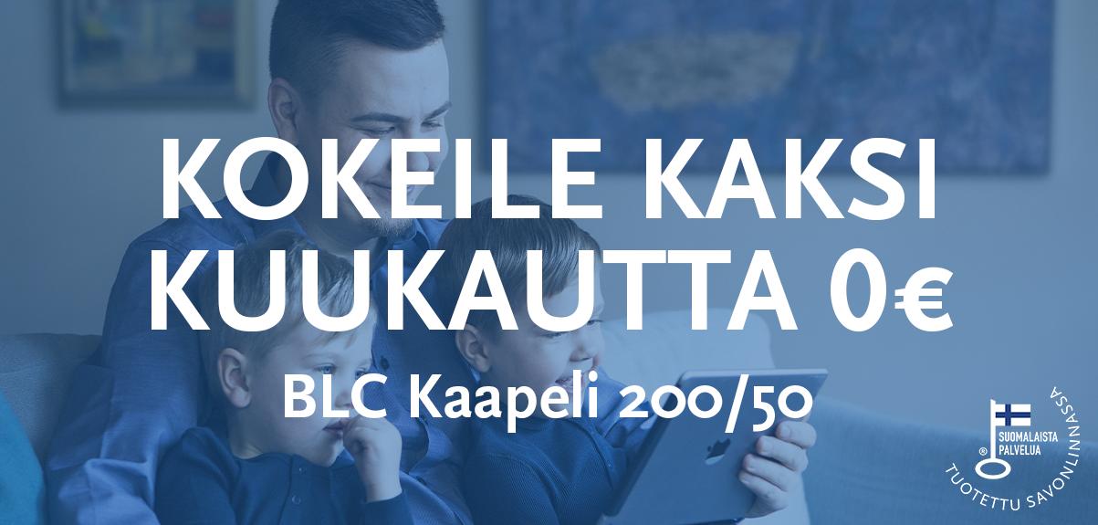 Kokeile BLC Kaapeli 2kk 0€