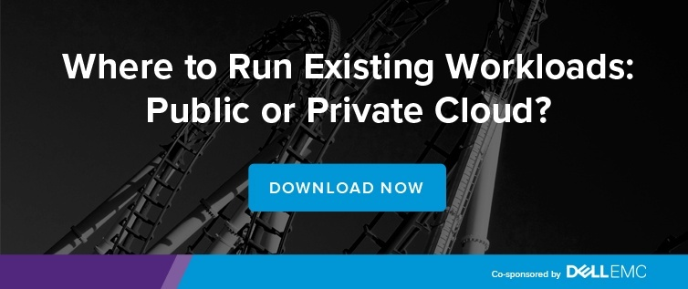 Where to run existing workloads: public or private cloud