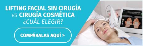 Lifting facial sin cirugía vs cirugía cosmética - ¿Cual elegir?
