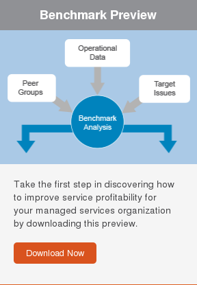 Benchmark Preview  Take the first step in discovering how to improve service profitability for  your managed services organization by downloading this preview.  Download Now