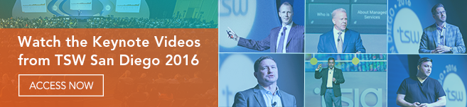 Watch the Keynote Videos from TSW San Diego 2016