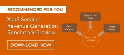 XaaS Service Revenue Generation Benchmark