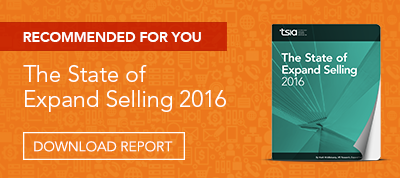 Download the Report: The State of Expand Selling 2016