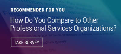 professional services best practices survey