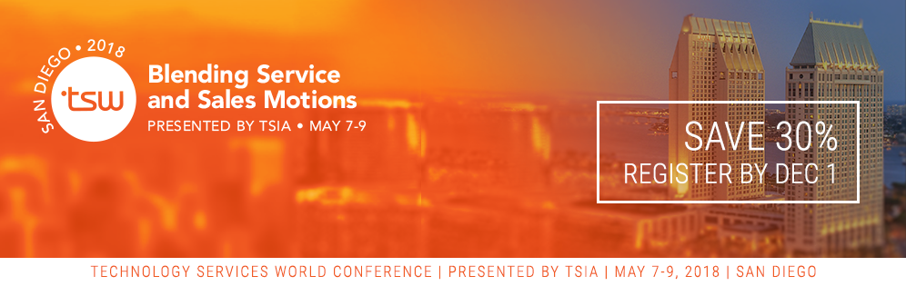 Register Now for TSW 2018 and Save 30%