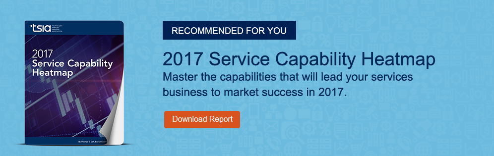 Master the capabilities that will lead your services business to market success