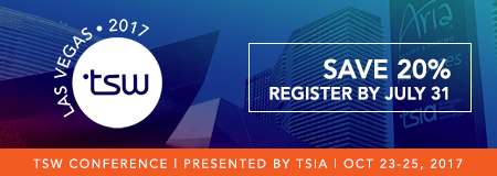 Register for TSW Las Vegas 2017 | Save 20%