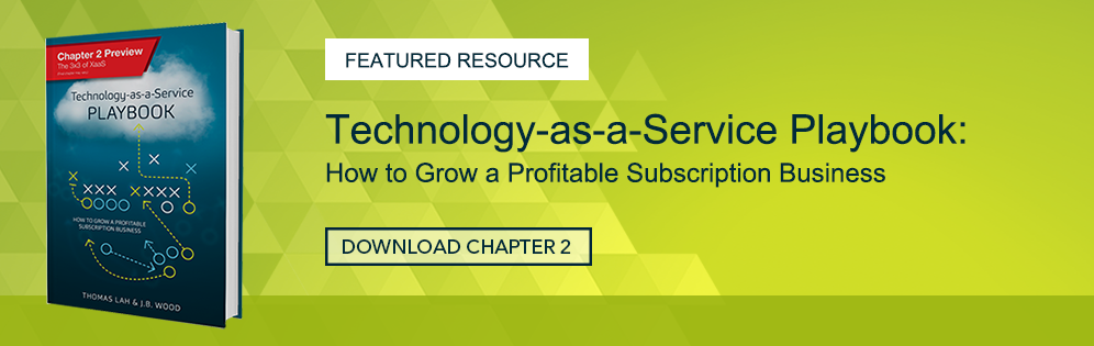 Introducing the Technology-as-a-Service Playbook