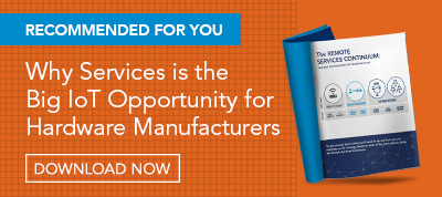 Why Services is the Big IoT Opportunity for Hardware Manufacturers ebook