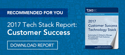 2017 Customer Success Technology Stack Report