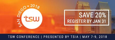 Register for TSW Las Vegas 2017 | Save 20%