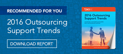 Outsourcing Support Trends