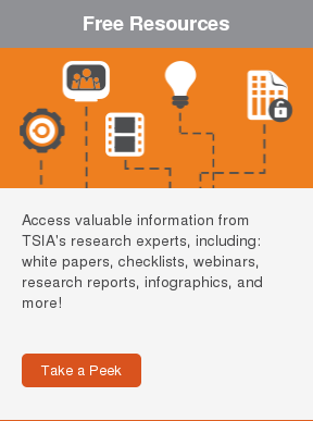 Featured Research  Access valuable information from TSIA's research experts, including: white  papers, checklists, webinars, research reports, infographics, and more!     Learn More