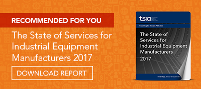 the state of services for industrial equipment manufacturers