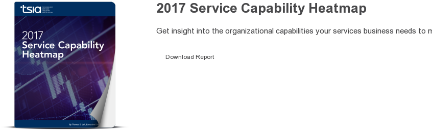 2017 Technology Services Heatmap  Get insight into the organizational capabilities your services business needs  to master in order to improve its operational and financial performance in 2017.  Download Report