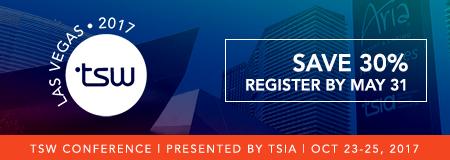 Register for TSW Las Vegas 2017 | Save 30%