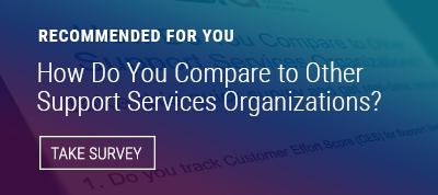 Support Services Best Practices Survey