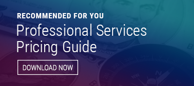 professional services pricing guide