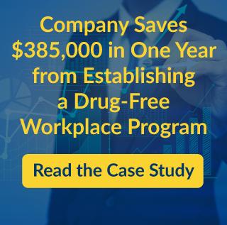 Drug-free workplace savings