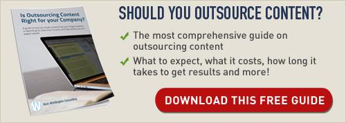 Should you outsource content creation? Download this free guide
