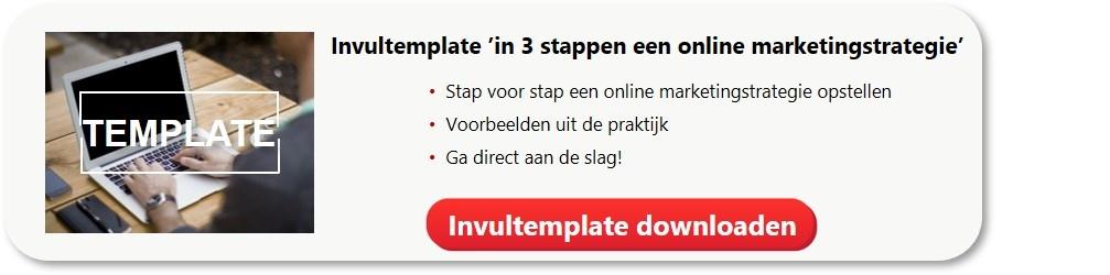 Invultemplate Online Marketingstrategie