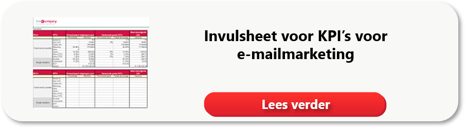 Lees meer over de invulsheet voor KPI's voor e-mailmarketing