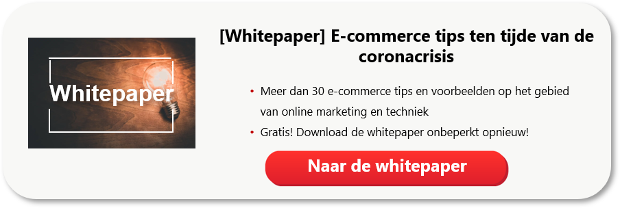 E-commerce tips ten tijde van de coronacrisis